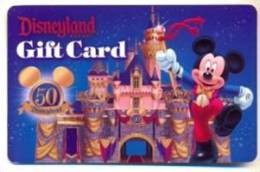 Disney Disneyland Resort U.S.A.  Gift Card For Collection, Without Value,  # 208 - Gift Cards