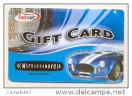 Wirelesswave, CANADA,  Gift Card For Collection, No Value # 1 - Gift Cards