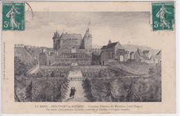 72 MONTFORT Le ROTROU L'ancien Château D'après Une Ancienne Aquarelle - France