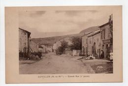 - CPA GOVILLER (54) - Grande Rue (2e Partie) - - Otros Municipios