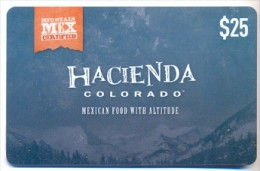 Hacienda Colorado U.S.A., Gift Card For Collection, No Value # 1 - Gift Cards