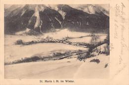St. Maria  Winter - GR Grisons