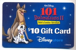 Disney Older Store Gift Card For Collection, No Value,  # Store-6  Hard To Get - Gift Cards
