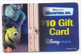 Disney Older Store Gift Card For Collection, No Value,  # Store-4  Hard To Get - Gift Cards