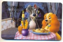 Disney Disneyland Resort U.S.A.  Gift Card For Collection, Without Value,  # 210 - Gift Cards