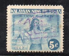 W2748 - FILIPPINE Occupazione Giapponese 1943 : 5 Cent  Usato - Filippine