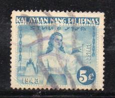 W2745 - FILIPPINE Occupazione Giapponese 1943 : 5 Cent  Usato - Filippine