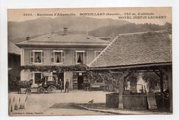 - CPA BONVILLARD (73) - HOTEL JUSTIN LAURENT (avec Personnages) - Collection Grimal 3045 - - Otros Municipios
