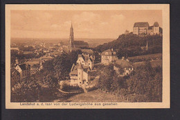 D8 /    Landshut 1913 / Bayern Bahnpost München - Regensburg - Unclassified