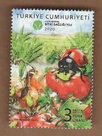 AC - TURKEY STAMP -  2020 INTERNATIONAL YEAR OF PLANT HEALTH MNH 24 SEPTEMBER 2020 - 1921-... Repubblica