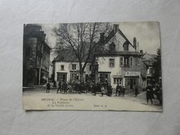 Meymac Place De L'église La Fontaine Et La Vielle Croix (animée) - Altri Comuni