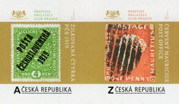 Czech Republic - 2020 - Treasures Of World Philately - PCS 1919 And Red Mauritius - Mint Personalized Stamp Set - Ungebraucht