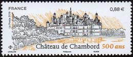 France N° 5331 - Château De Chambord 500 Ans (Loir Et Cher) - Frankreich