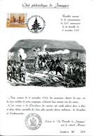 11192122 BE 19921121 Jemappes; 200 Ans Bataille De Jemappes & Noël; 3 Feuillets Avec N°, Cob2488 - Feuillets
