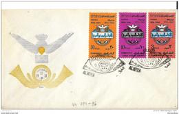 "136 - 20 - Enveloppe 1er Jour ""Permanent Office"" 1964 - Iraq"