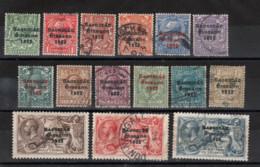 Irlande_ Timbres - De GB - état Libre (1922)  N° 25 /39 - 1922-37 Stato Libero D'Irlanda