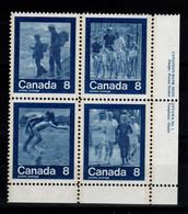 Canada - Bloc De 4 N** Des JO De Montreal 1976 - 1952-.... Regno Di Elizabeth II