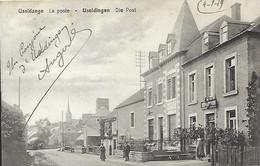 Luxembourg - Luxemburg  - USELDANGE  - LA POST  -  Papiers En Gros , P.Houstraas , Luxembourg  -  2 Scans - Familia Real