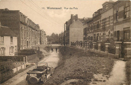 Belgique - Bruxelles - Watermael - Rue Des Près - Vieille Voiture Décapotable - Watermael-Boitsfort - Watermaal-Bosvoorde
