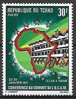 TCHAD   -   1971  -    Y&T N° 231 *.   Sommet De  L' OCAM - Tchad (1960-...)