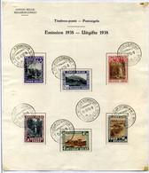 Belgisch Congo - 197/02 Op Herdenkingsblad - 1923-44: Used