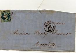 LSC - FRANCE N° 29a - 20c OBL. 2240 + AJACCIO / BAT A VAP - Posta Marittima