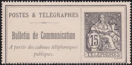 France    .    Yvert  .     Telephone 23   (2 Scans)     .  *   .  Neuf Avec Gomme   .   /   .   Mint-hinged - Telegrafi E Telefoni
