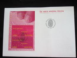 Sweden FDC 2009 Se Med Andra Ögon (FDC 6) - FDC