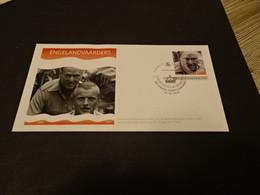 M6690 - Personalised FDC Sint Maarten 2018 - Engelandvaarders - Eric Hazelhoff Reolfzema Met Rutger Hauer - WW2