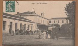 Cpa 30 Alais ( Alès ) La Gare - Alès