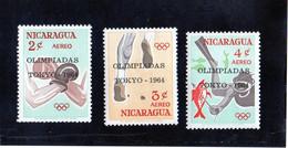 B - 1964 Nicaragua - Olimpiadi Di Tokyo - Verano 1964: Tokio