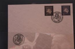 Lietuva; Freimarken Wappen, 1994, MiNr. 553-54 Auf FDC - Lituania