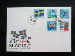 Sweden FDC 2011 Blågult (FDC 6) - FDC
