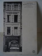 CPA BOULOGNE-sur-MER--PHARMACIE CENTRALE J. BERTHIER, 43, GRANDE RUE;  2 SCANS; - Boulogne Sur Mer