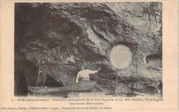 64 - Sare - Médaillon Commémoratif De La Visite Impériale De Napoléon III Et Eugénie Aux Grottes Merveilleuses - Sare