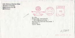 AFS The Foreign Service Of The United STates Of Merica - 5300 Bonn An Militärabteilung Belg. Botschaft BPS/SPB - [7] Federal Republic