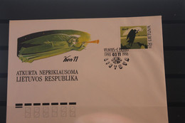 Lietuva; Engel, 1991, MiNr. 471 Auf FDC - Lithuania