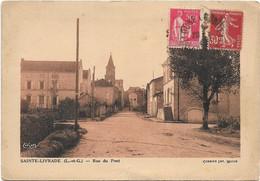 CPSM - SAINTE LIVRADE - Rue Du Pont - Autres Communes