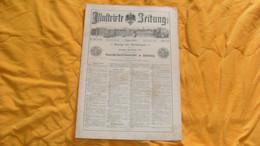 ANCIEN JOURNAL ALLEMAND ILLUSTRIRTE ZEITUNG LEIPZIG UND BERLIN...9 MARZ 1889..NR. 2384 - Revistas & Periódicos