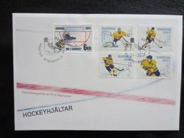 Sweden FDC 2013 Hockeyhjältar (FDC 6) - FDC