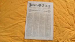 ANCIEN JOURNAL ALLEMAND ILLUSTRIRTE ZEITUNG LEIPZIG UND BERLIN...16 FEBRUAR 1889..NR. 2381 - Revistas & Periódicos