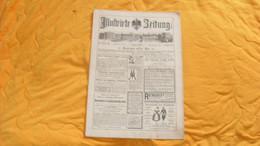 ANCIEN JOURNAL ALLEMAND ILLUSTRIRTE ZEITUNG LEIPZIG UND BERLIN..9 FEBRUAR 1889..NR. 2380 - Revistas & Periódicos