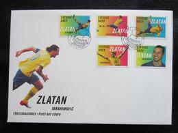 Sweden FDC 2014 Zlatan Ibrahimovic  (FDC 6) - FDC