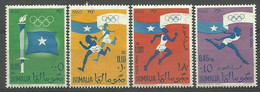 Somalia 1960 Mi 8-11 MNH ( ZS4 SML8-11 ) - Summer 1960: Rome