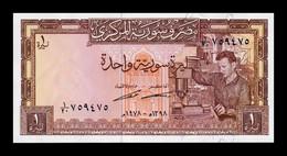 Siria Syria 1 Libra Siria 1978 Pick 93d SC UNC - Siria
