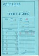 Carnet à Choix D'occasion Vide (Yvert & Tellier) - Altro Materiale