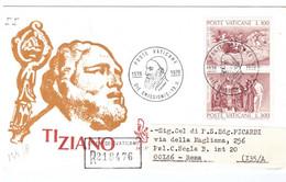 POSTE VATICANE - FDC VENETIA - 1976 - 4° CENTENARIO DELLA MORTE DI TIZANIO VECELLIO - RACC° 218476 - - FDC