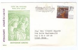 POSTE VATICANE - FDC RODIA - 1978 - MUSEI VATICANI - DEXTRARUM IUNCTIO - - FDC