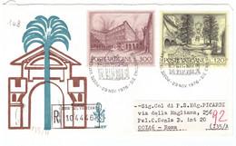 POSTE VATICANE - FDC VENETIA - 1976 - ANNO EUROPEO DEL PATRIMONIO ARCHITETTONICO - RACC N° 104446 - - FDC