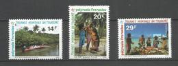 Timbre De Polynésie Française Neuf ** N 440/442 - Neufs